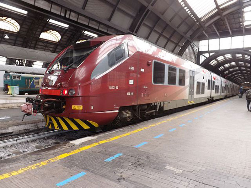 Malpensa Express, Милан