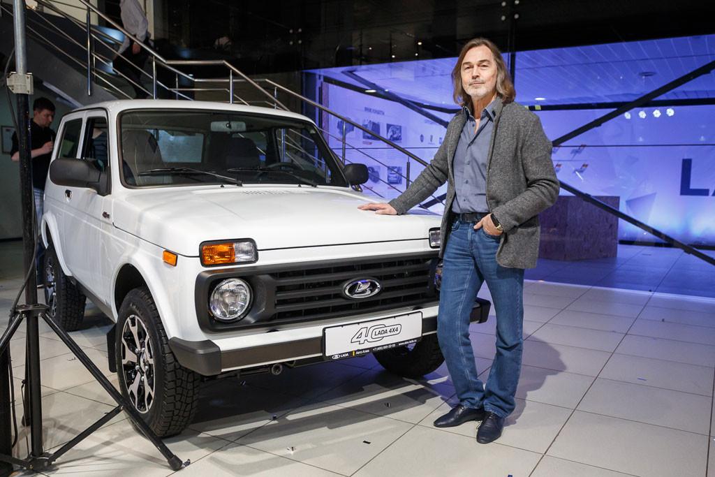 Никас Сафронов и Lada 4x4 40 Anniversary