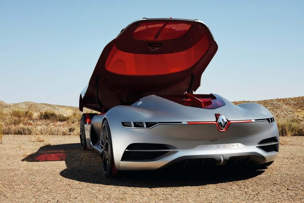 Рено официально презентовал концептуальный автомобиль Trezor