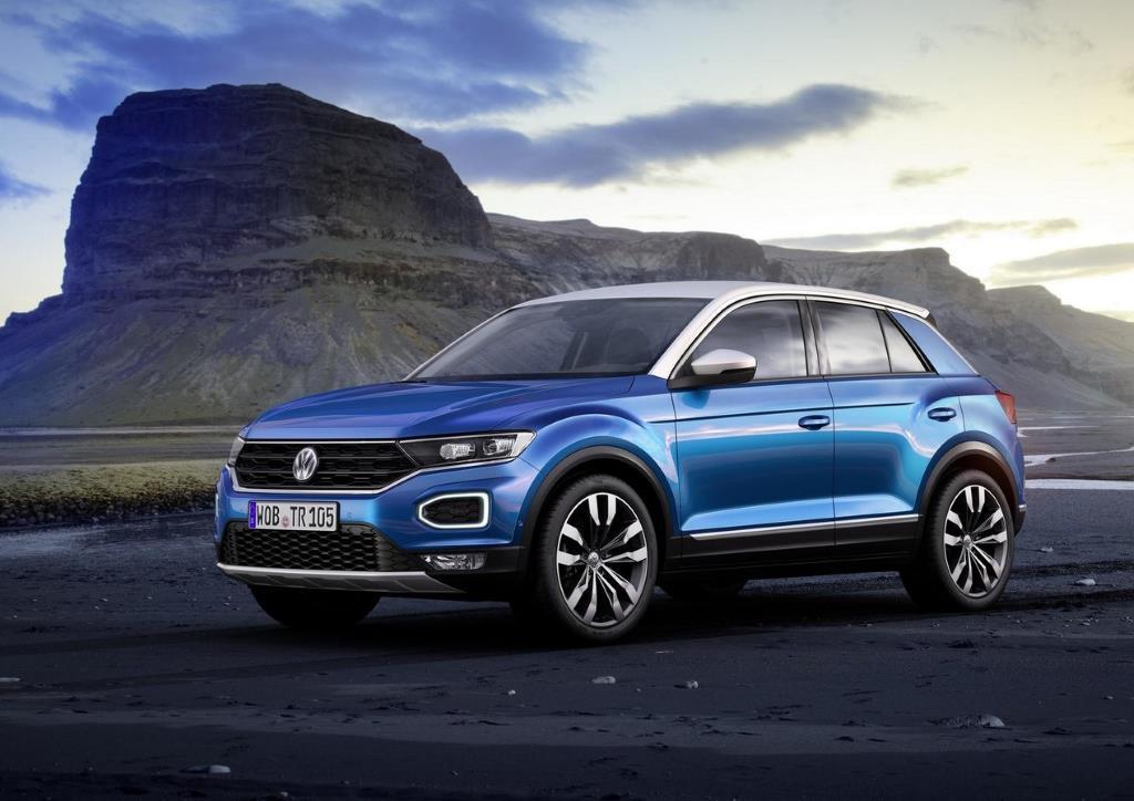 VW продемонстрировал стильный кроссовер наGolf-платформе— Младший брат Tiguan