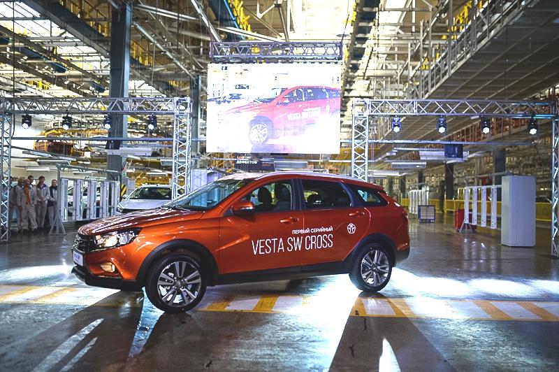 Старт производства Lada Vesta SW