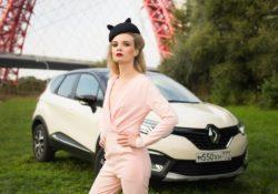 Елизавета Соколова, посол Renault Kaptur Extreme
