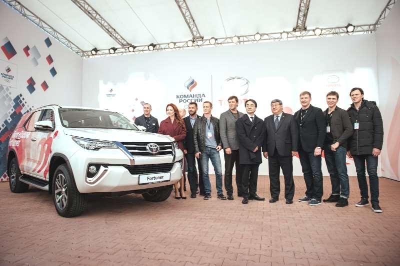 Специальный кубок Toyota Challenge Cup для российской сборной на Олимпиаде в Корее в 2018 году
