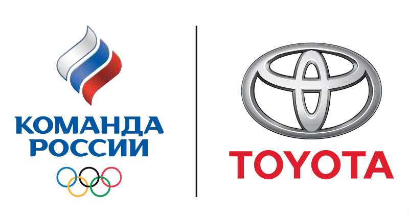 Сотрудничество Toyota и Олимпийского комитета России (ОКР)