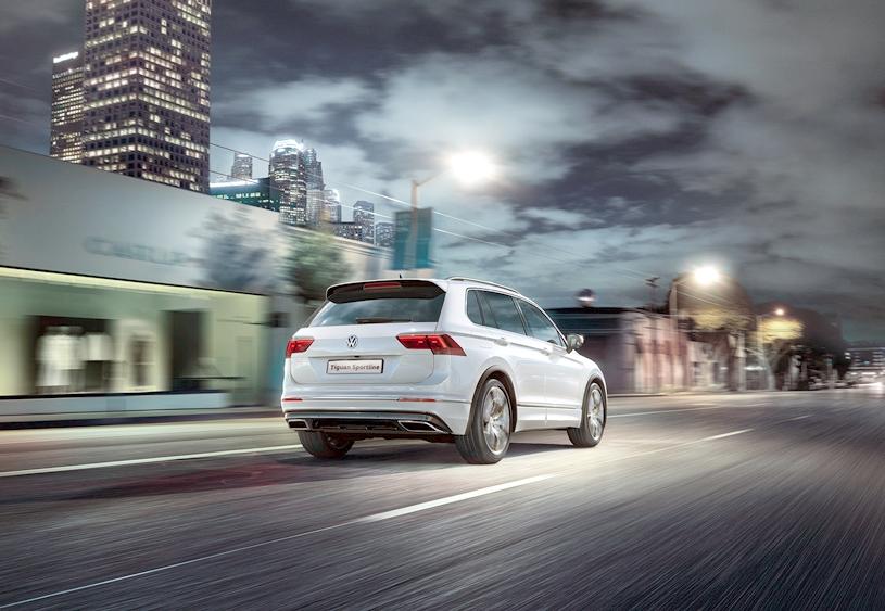 2018 Volkswagen Tiguan Sportline