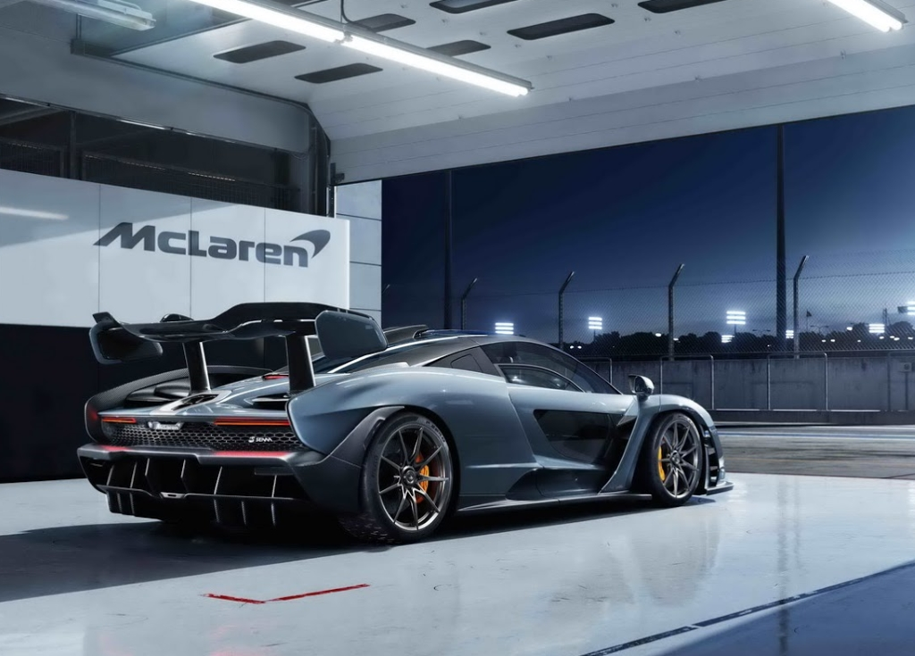 «Макларен» представил новый спортивный автомобиль  Мак Ларен  Senna
