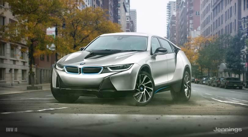 Спорт-кросс из BMW i8