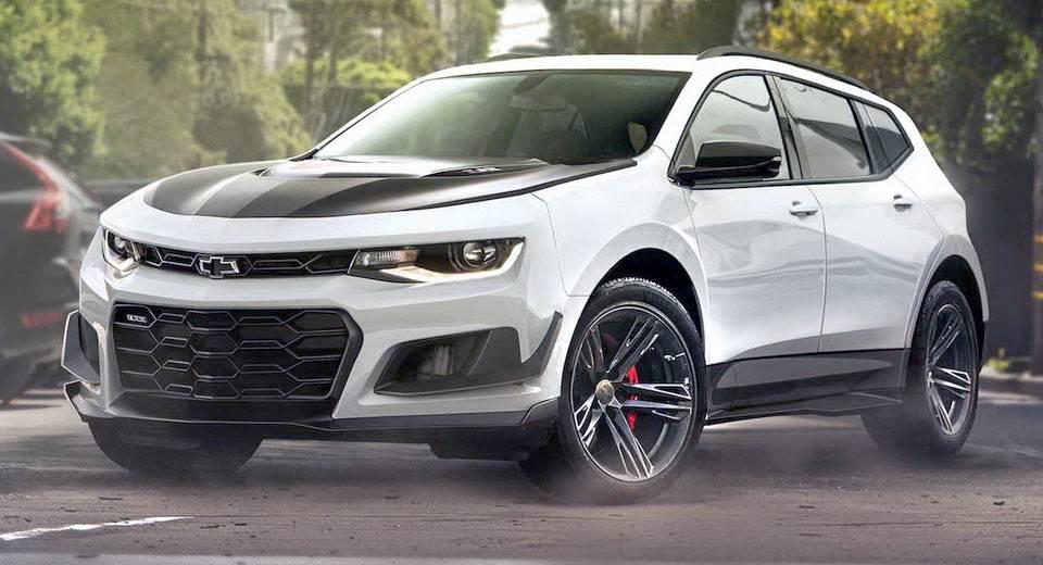 Спорт-кросс из Chevrolet Camaro