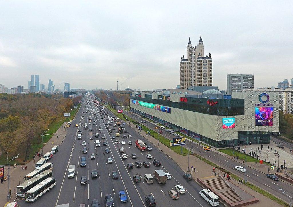 Москва, Кутузовский проспект