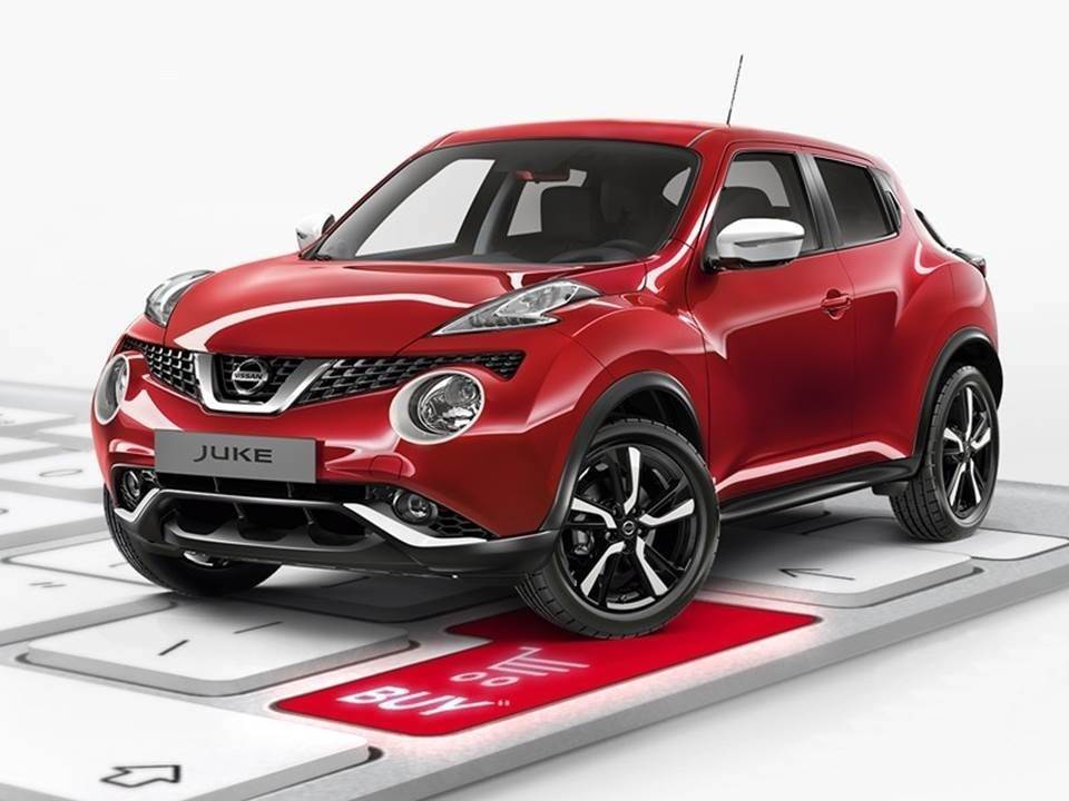 Онлайн-продажи автомобилей Nissan