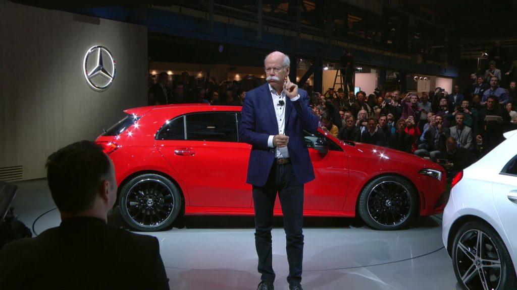 Дитер Цетше и 2018 Mercedes-Benz A-class