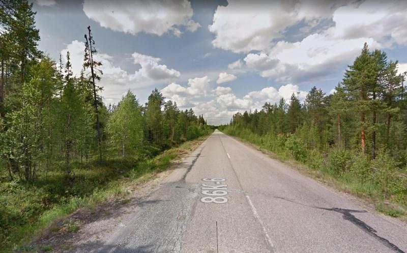 Дорога Кочкома - Ледмозеро, Карелия (Google Maps)