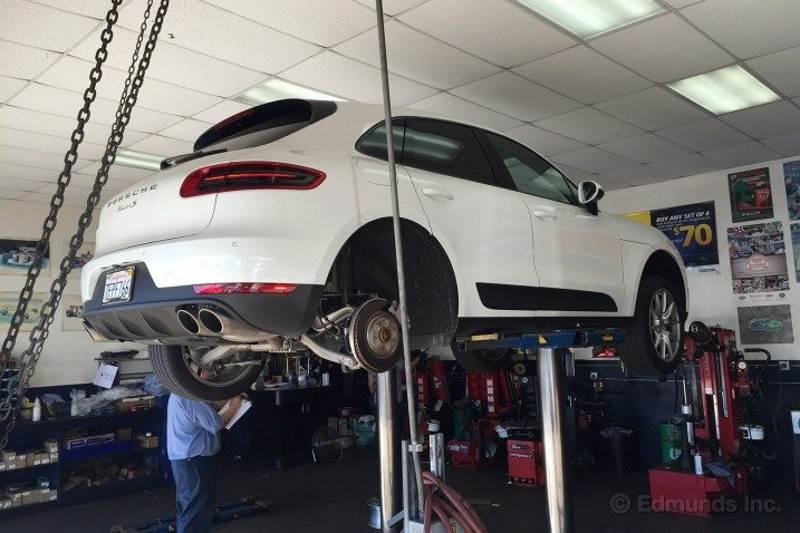 Ремонт автомобиля Porsche Macan