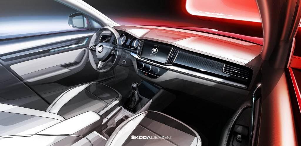Новый паркетник Skoda (Skoda Design)