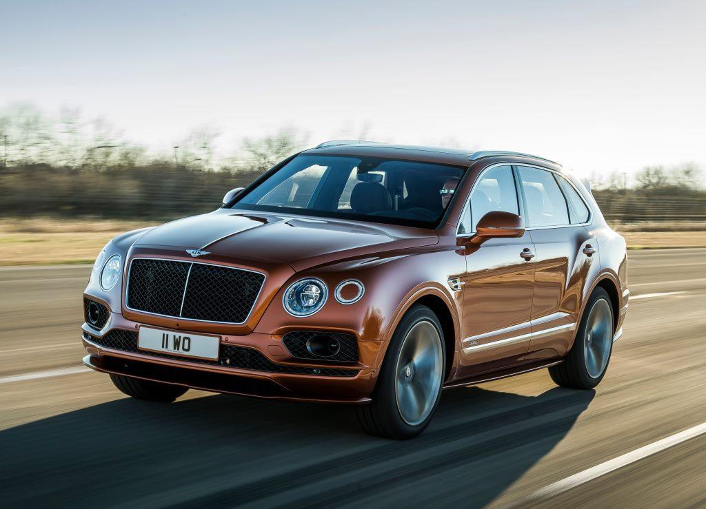 2019 Bentley Bentayga Speed