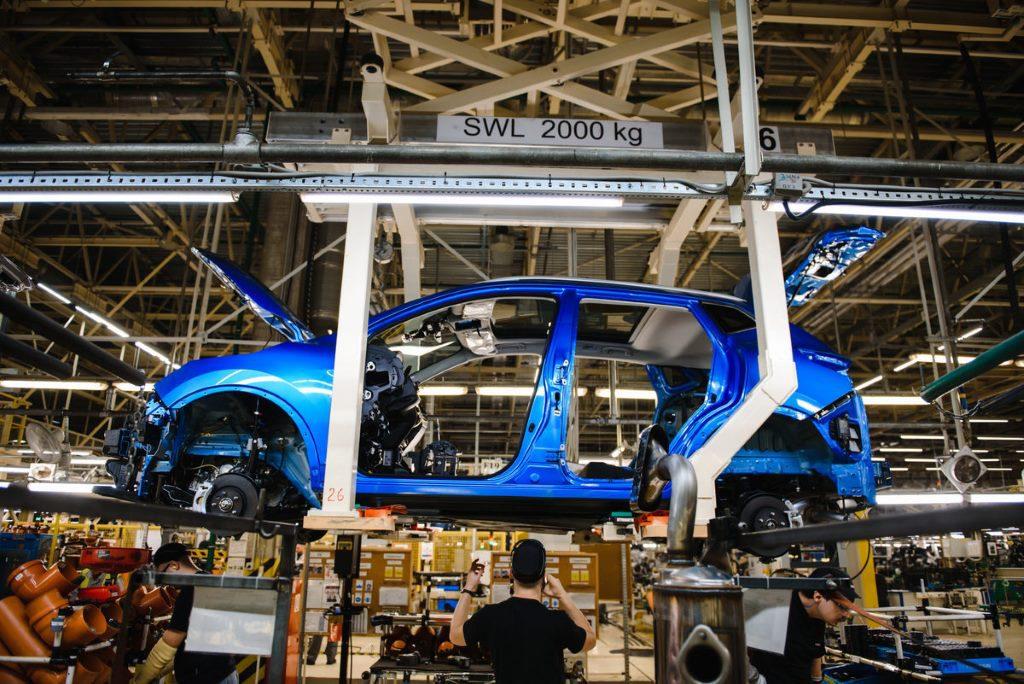 Завод Nissan Motor в Санкт-Петербурге. Производство 2019 Nissan Qashqai