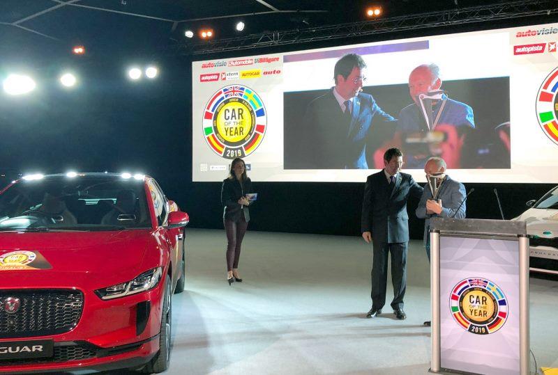 Jaguar I-Pace - автомобиль года в Европе - 2019