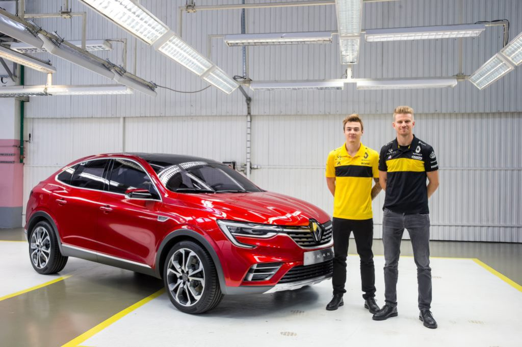 2020 Renault Arkana, Нико Хюлькенбург и Артем Маркелов