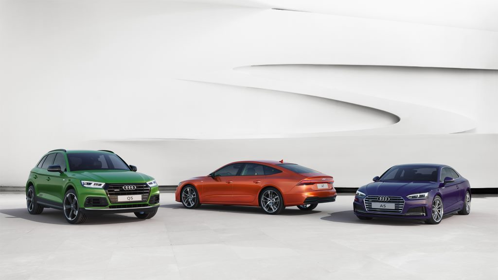 Audi A7 Sportback, Audi A5 Coupe и Audi Q5 в эксклюзивной версии Exclusive Edition.