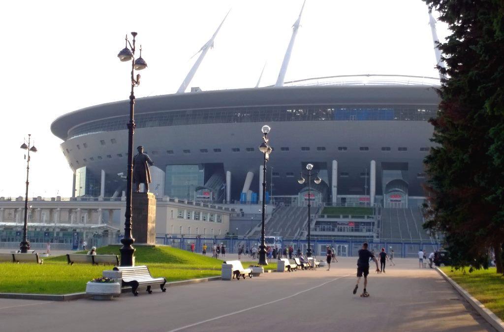 Газпром-Арена. Санкт-Петербург. Июнь, 2019