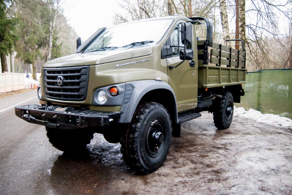 Новый капотный среднетоннажный грузовик «Садко Next»