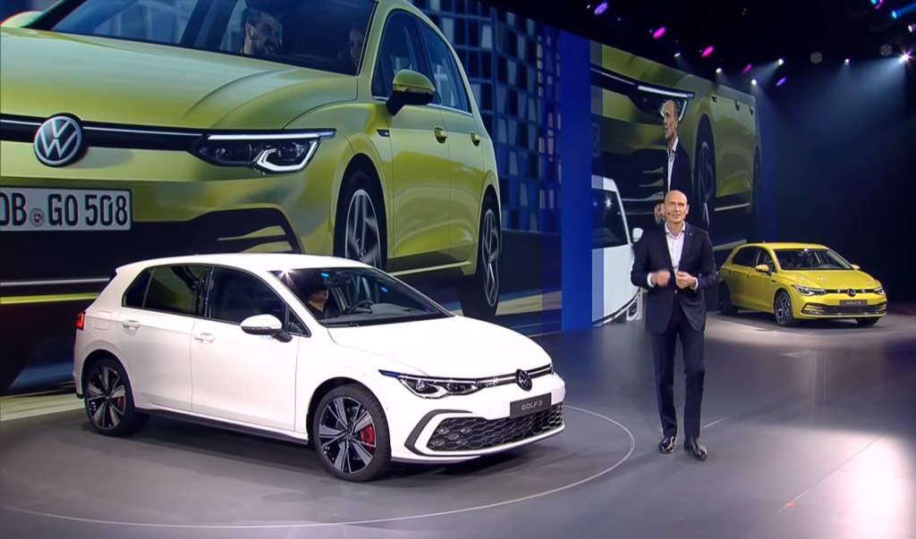 Мировая премьера Volkswagen Golf восьмого поколения