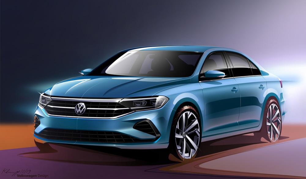 2021 Volkswagen Polo (предварительное изображение)