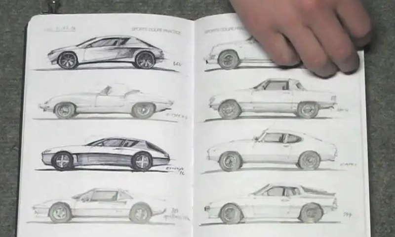 I draw cars, книга по автодизайну