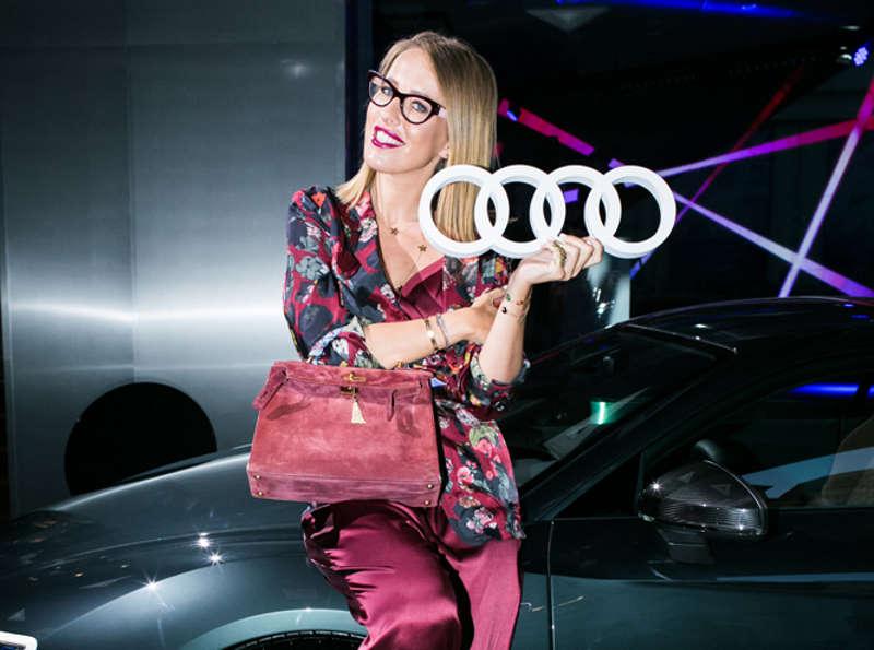 Ксения Собчак - посол Audi
