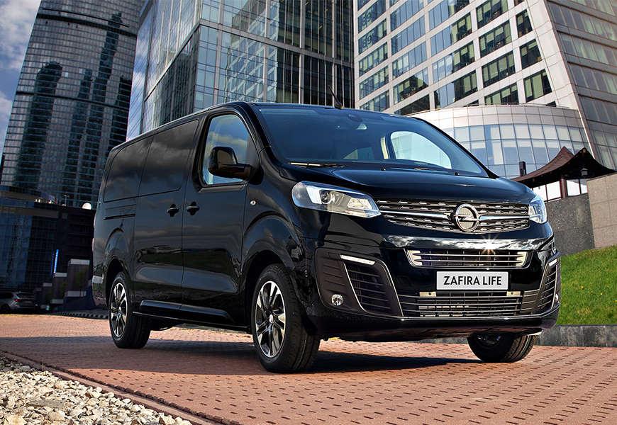 Opel Zafira Life Black Edition