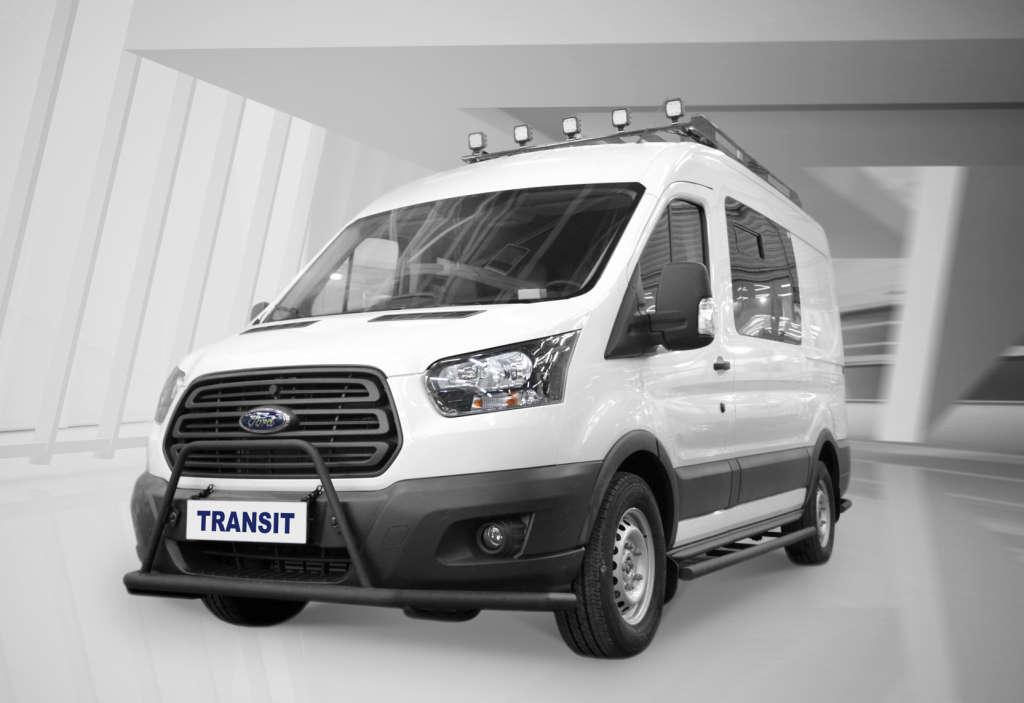 Ford Transit для охотников и рыбаков