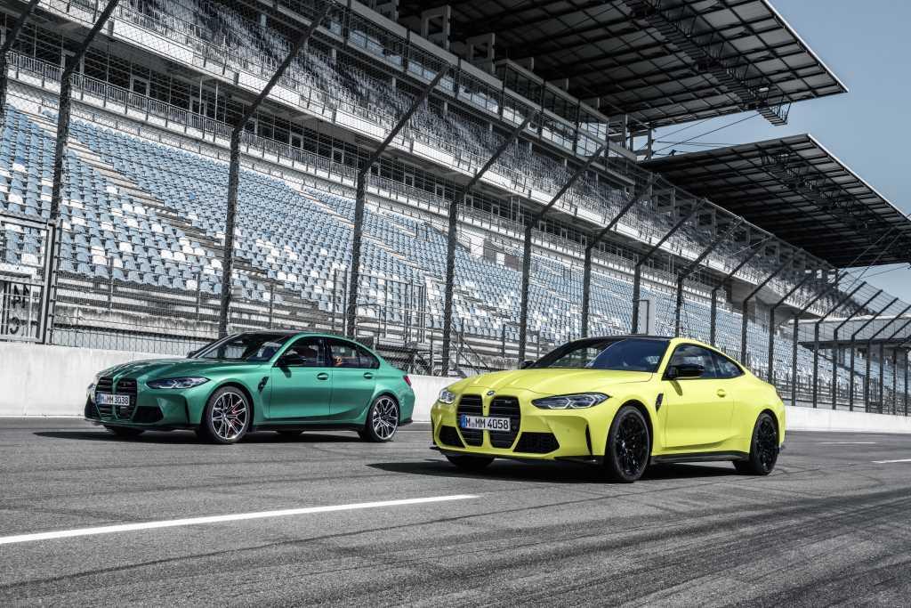 2021 BMW M3 и 2021 BMW M4