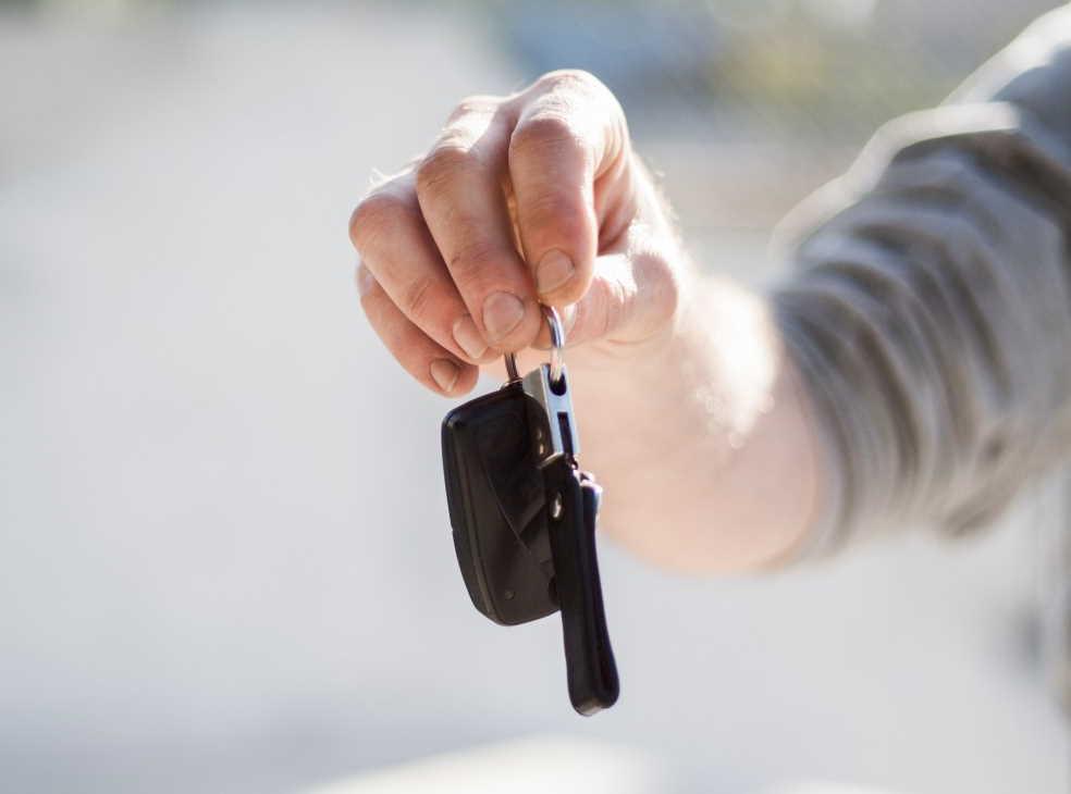 Продажа/покупка автомобиля (передача ключей)