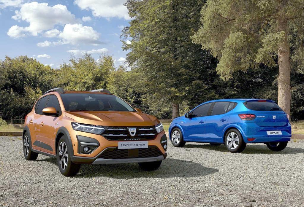 2021 Dacia (Renault) Sandero и 2021 Dacia (Renault) Sandero Stepway