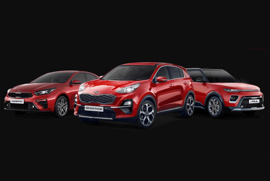 Kia Cerato, Kia Soul и Kia Sportage особой серии Edition Plus