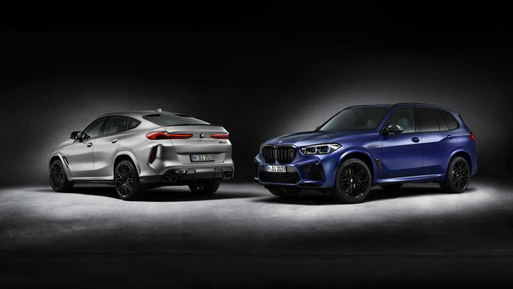 BMW X5 M Competition First Edition и BMW X6 M Competition First Edition