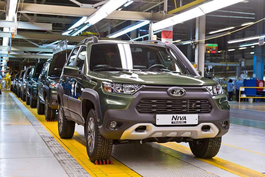 Производство Lada Niva Travel на заводе Lada Запад Тольятти