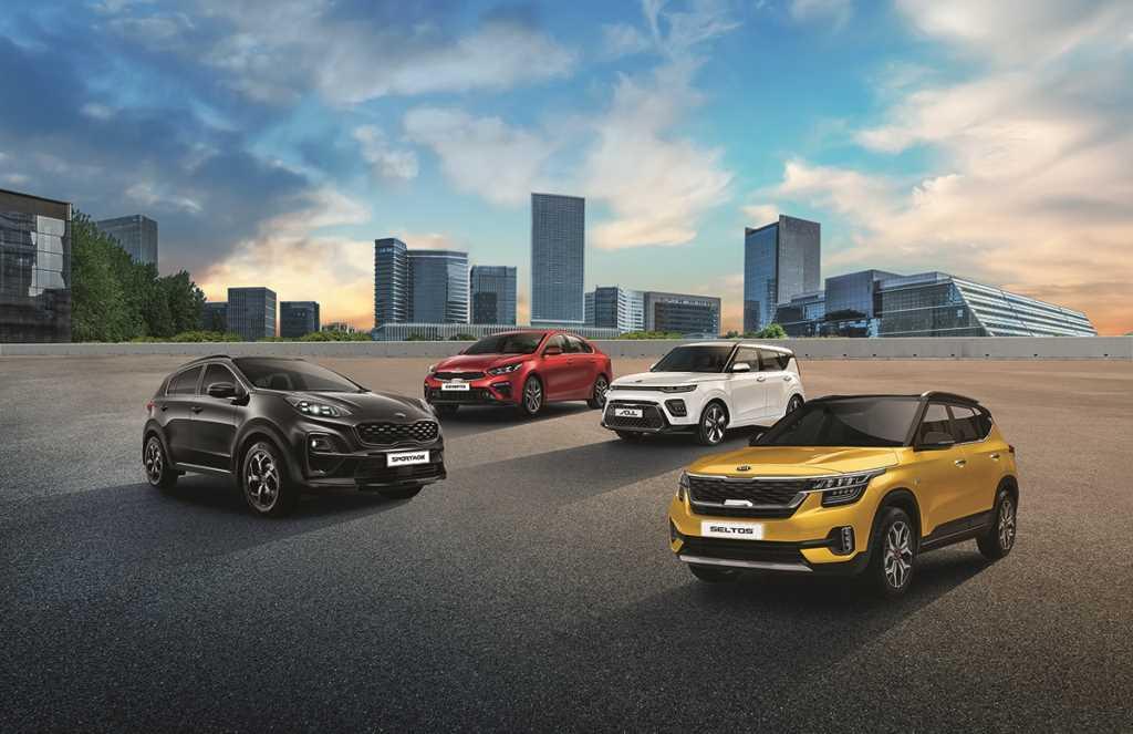 Автомобили Kia специальной серии Edition Plus