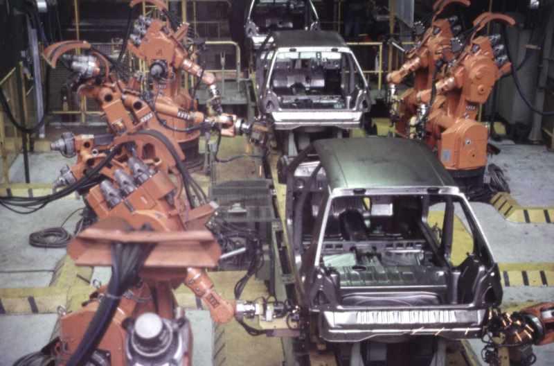 Завод Skoda в Млада-Болеславе (1990-е годы XX века)