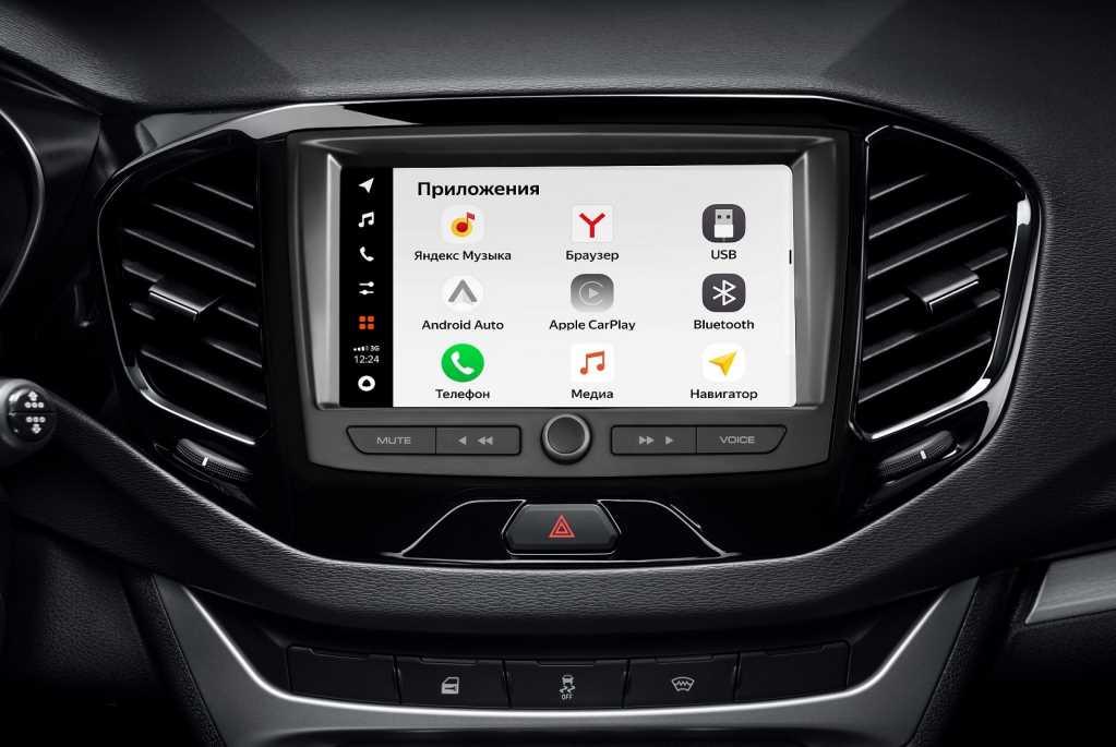 Мультимедийная система Lada EnjoY Pro