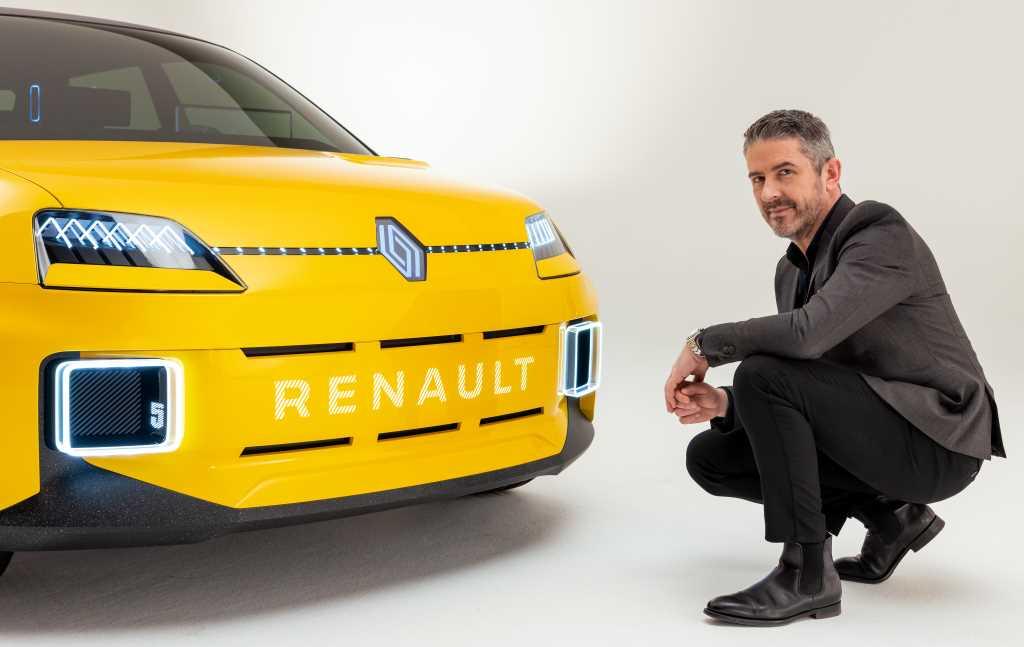 Жиль Видаль, глава отдела дизайна Renault