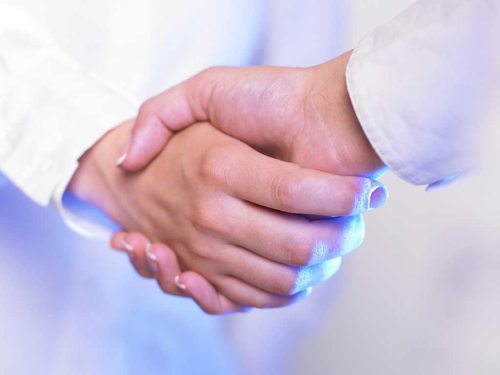 Соглашение, рукопожатие, договор