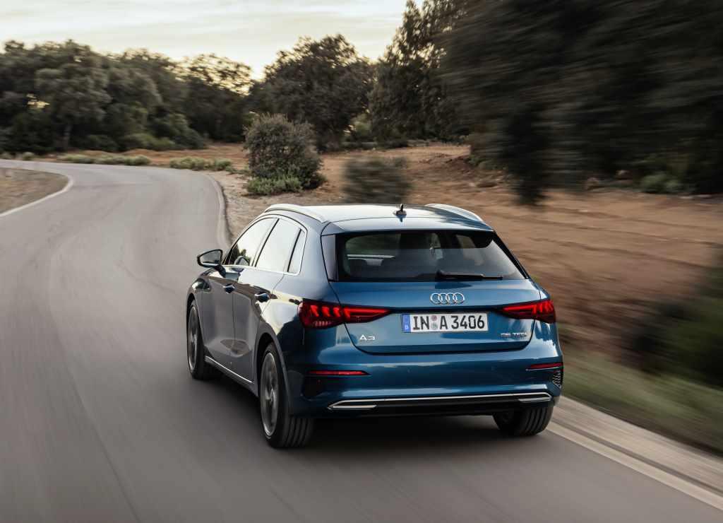 2021 Audi A3 Sportback особой серии Young&Drive