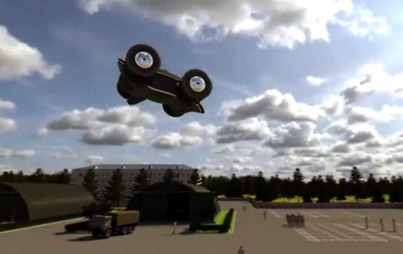 Летающий автомобиль Циклокар