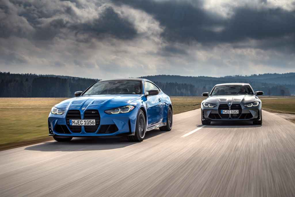 2022 BMW M3 Competition M xDrive и 2022 BMW M4 Competition Coupe M xDrive
