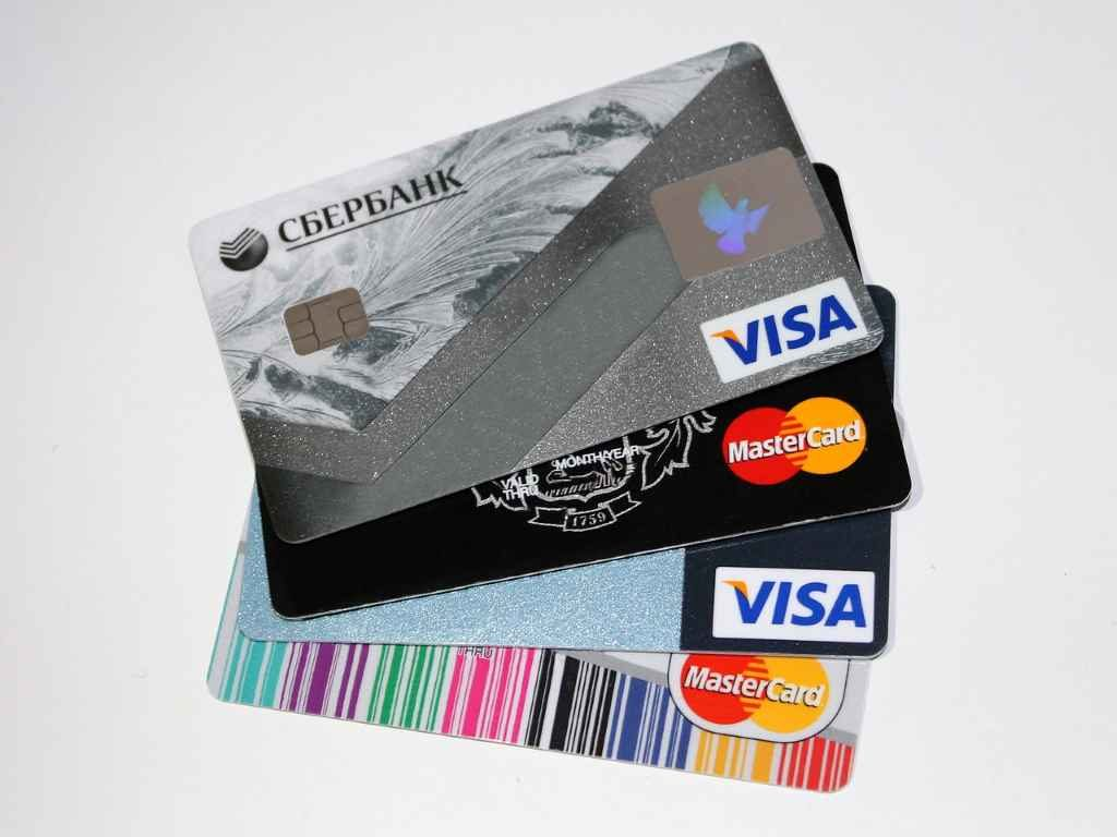 Банковские карты (Сбербанк)