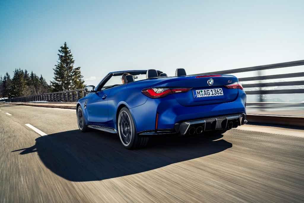 2021 BMW M4 Competition Cabrio