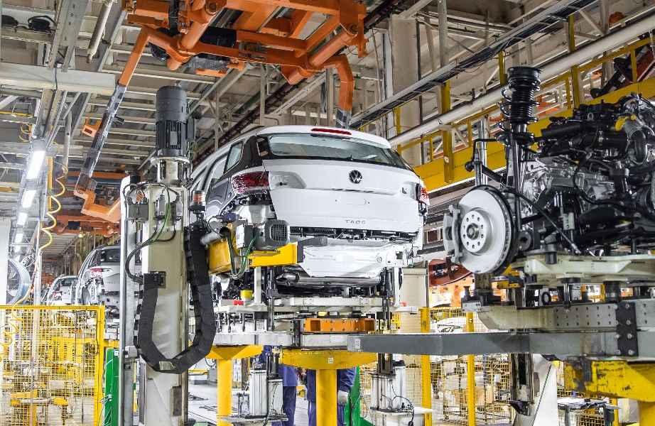 """Производство Volkswagen Taos на заводе """"Группы ГАЗ"""" в Нижнем Новгороде"""