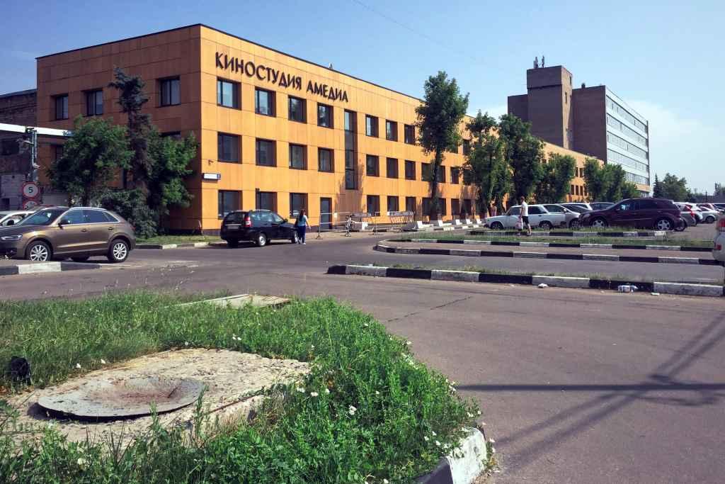 Здание бывшего Московского шинного завода