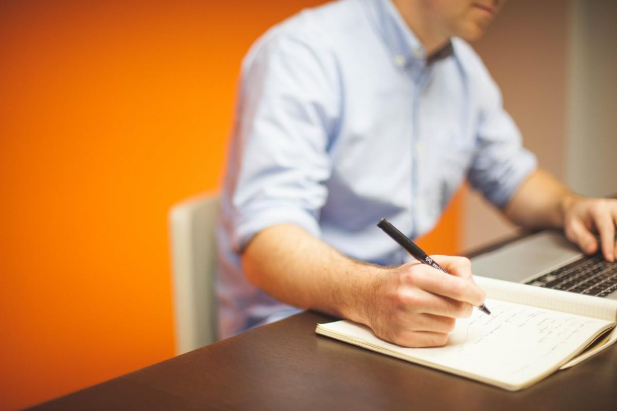 Написать письмо, расписка, подпись, тетрадь